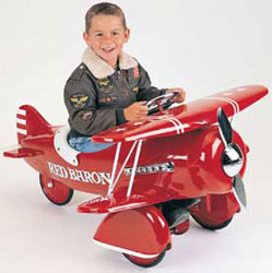 Red Baron Pedal Bi-Plane