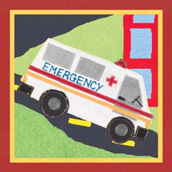 Art4Kids/Creative Images Rescue Ambulance Artwork