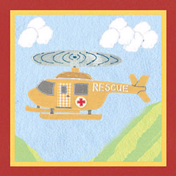 Art4Kids/Creative Images Rescue Helicopter Artwork