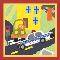 Art4Kids/Creative Images Rescue Police Car Artwork