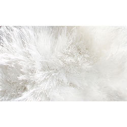 The Rug Market Sensual Shag Rug-White