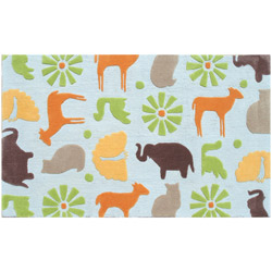 Safari Blue Rug