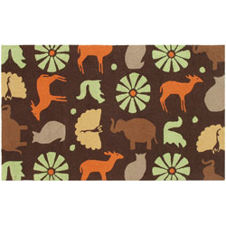 The Rug Market Safari Brown Rug