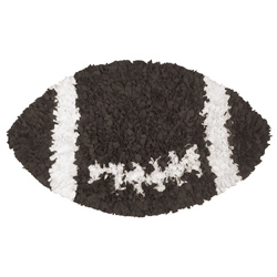 Football Shaggy Raggy Rug
