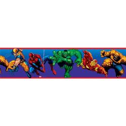 Marvel Heroes Peel & Stick Border