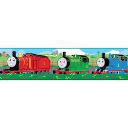 Thomas and Friends Peel and Stick Border