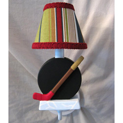 All Star Hockey Sconce