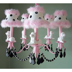FeFe French Poodle Chandelier