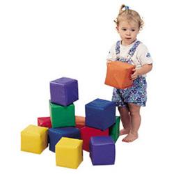 Set of 12 Toddler Baby Blocks