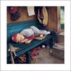 Art4Kids/Creative Images Seventh Inning Stretch Wall Art