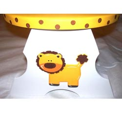 Personalized Lion Step Stool