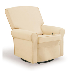 Shermag Square Back Upholstered Rocker