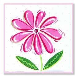 Large Flower Artwork-Lilly
