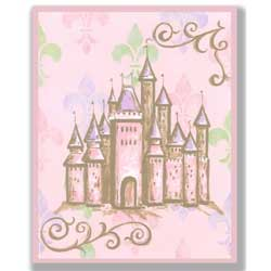 Pastel Princess Artwork-Castle