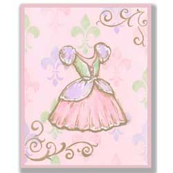 Pastel Princess Artwork-Dress