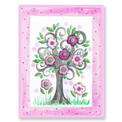Spring Time Tree Wall Art