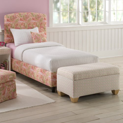 Spring Time Upholstered Bed
