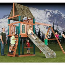 RealTree Woodsman Swing Set