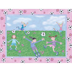 Soccer Friends Wall Art