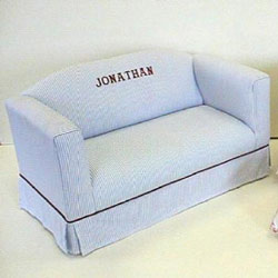 Personalized Child Sofa With Box Skirt