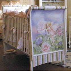 Glitter Garden Crib