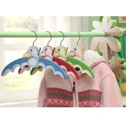 Teamson Dinosaur Kingdom Set of 4 Hangers