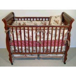 Tan Rodeo Crib Bedding Set