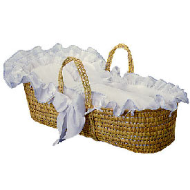 Blauen Little Tailor Moses Basket