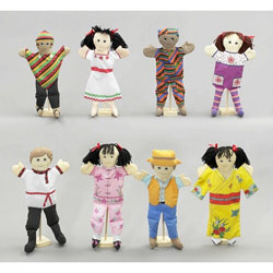 Ethnic Cultured Puppets