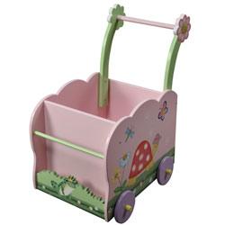 Teamson Magic Garden Push Cart