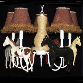 The Horses Chandelier