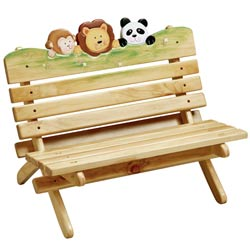 Teamson Sunny Safari Outdoor Bench
