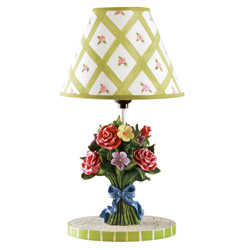 Teamson Bouquet Table Lamp