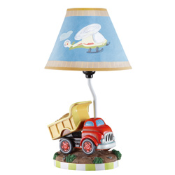 Teamson Ride Around Table Lamp