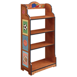 Teamson Little Sports Fan Bookshelf
