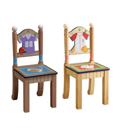 Teamson Little Sports Fan Set of Two Chair