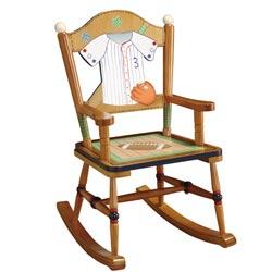 Teamson Little Sports Fan Rocking Chair