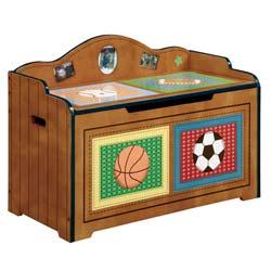 Teamson Little Sports Fan Toy Box
