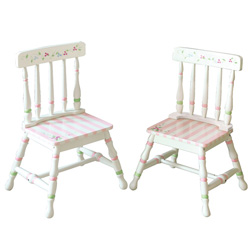 Teamson Bouquet Set of Two Chairs