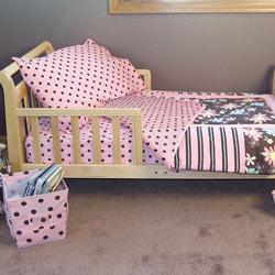 Trend Lab, LLC Blossoms Toddler Bedding Set