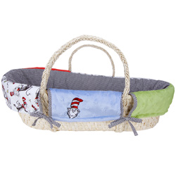 Trend Lab, LLC Dr. Seuss Cat in the Hat Moses Basket