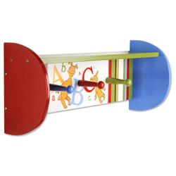 Trend Lab, LLC Dr. Seuss ABC Shelf with Peg Hooks