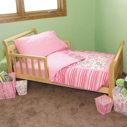 Trend Lab, LLC Pink Paisley Toddler Bedding