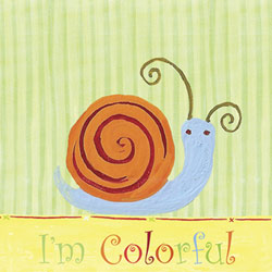 Colorful Snail