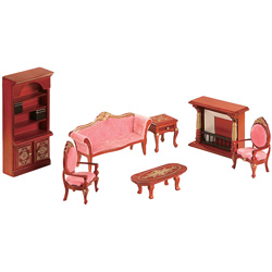 Teamson Doll Furniture Living Room Set