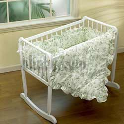 Baby Doll Toile Cradle Additional Sheet