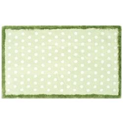 Fufu Dots Green Rug