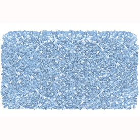 The Rug Market Shaggy Raggy Light Blue Rug