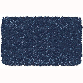 The Rug Market Shaggy Raggy Dark Blue Rug