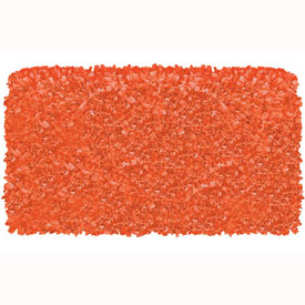 The Rug Market Shaggy Raggy Tangerine Rug